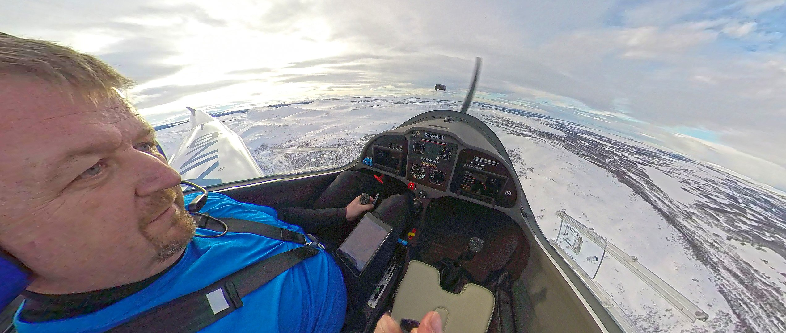 Phinix winterflight cockpit
